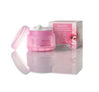 Rosa Impex Bulgarian Rose & Pearl 24 h Pflegecreme 50ml