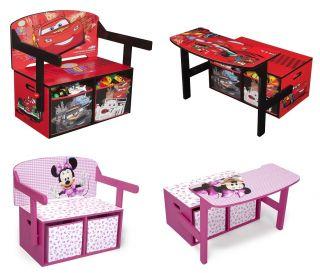 Disney 3 in 1 Bank umklappbar zum Schreibtisch Kinder Möbel Organizer
