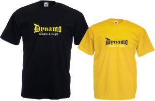 Fan T Shirt Dynamo Fan Fanshirt Ultras Hooded