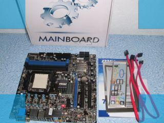 MSI 785GM E51(MS 7596 Ver.1.2) Sockel AM3 Mainboard mit Zubehör