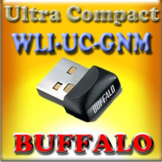 BUFFALO WLI UC GN Wireless N USB MINI NEW 802.11b/g/n
