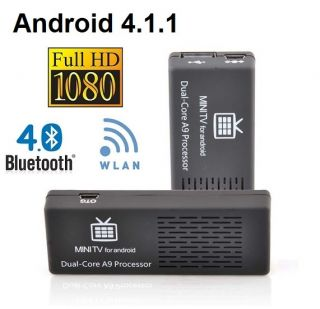 MK808 B Android 4 1 1 MINI PC SMAR V BOX DUAL CORE 1 6 GHz 8 GB 1GB