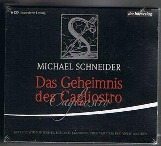 Das Geheimnis des Cagliostro [Audiobook] (Audio CD)