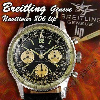 BREITLING Uhr Navitimer 806 LIP   Venus 178   aus 1966