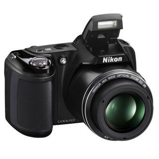 Nikon Digitalkamera Coolpix L810 Schwarz, 16 Mega Pixel, 26x opt Zoom