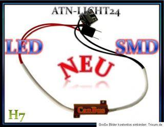 H7 LED SMD CanBus Widerstände Widerstand 55W 50W No Error