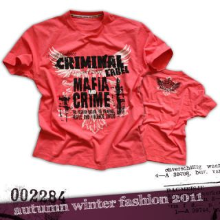 Mafia & Crime T Shirt /// Criminal Label /// Größe S   3XL