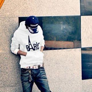 New Mens Top Designed Hoodie Slim Fit Paris Jacket Sweatshirt 6Color