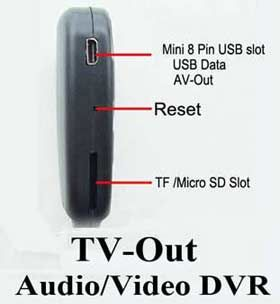 HD 720P SPY Mini DVR Key chain Cam 808 1280x720 Video Recorder Kamera