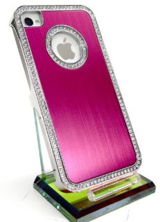 LUXUS iPhone 4 Designer Cover Case Hülle tasche strass