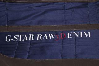 NEU+ G STAR TASCHE 5620 MECHANIC BAG WAXED COATED CANVAS +LAVA+