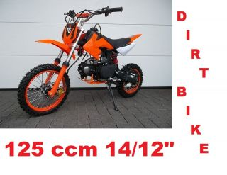 Dirtbike 125ccm Crossbike Enduro Motorrad Mini Cross Pitbike Motocross