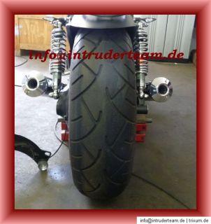 Felge 6,0x15 schwarz gepulvert für 200er Reifen Suzuki Intruder
