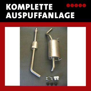 Auspuffanlage RENAULT MEGANE 75+90 PS Auspuff ab Kat
