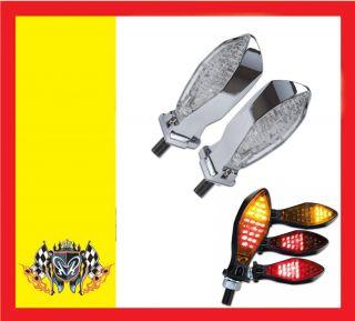Bremslicht Micro Space chrom Harley Sportster 833 1200