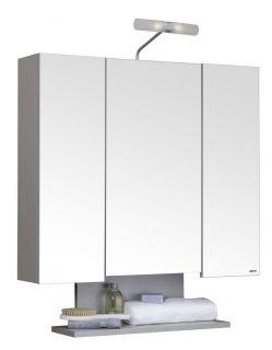 Allibert Spiegelschrank Badschrank Alt`o dreitürig aus Holz