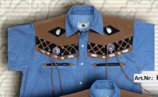 Western Cowboy Country Hemd   div. Modelle   Gr. XS 4XL