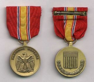US Army United States Military National Defense Service Medal Orden