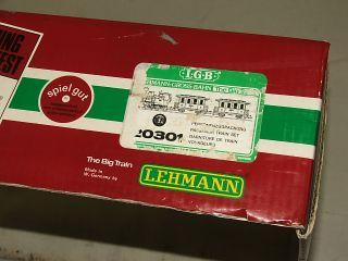 Lehmann LGB 20301  THE BIG TRAIN  Starter Set / Gross Bahn