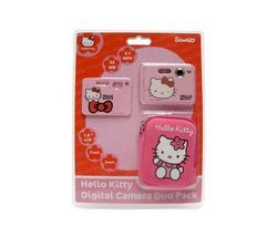 Ingo Digitalkamera Set für Kinder Hello Kitty 5 MPX + Etui USB * NEU