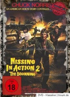 Missing in Action II ~ Die Rückkehr ~ Chuck Norris ~ UNCUT ~ DVD
