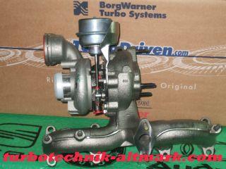 038253056DX Seat Alhambra 1.9 TDI Turbolader 96kw ASZ Turbocharger