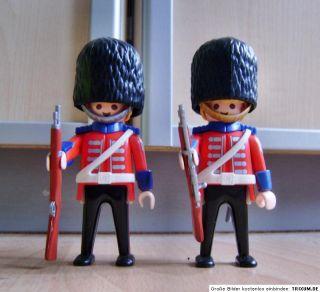 Playmobil 2x Royal Guard Wache UK Sonderfiguren