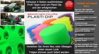 Plasti Dip Blaze Grün 3l   Gummi zum Sprühen   Felgenfolie Tuning