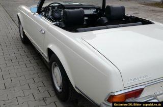 Mercedes Benz 280 SL Pagode, Klima, 4 Gang, Bj.70, §21 neu, § 23 neu