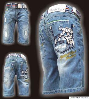 Super Coole Bermuda Jeans Junge JNS LX5014 Gr. 8 16 neu 2012