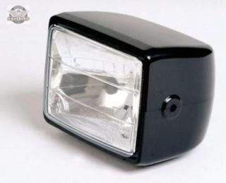 Motorrad Scheinwerfer H4 Uni Streetfighter Chopper Quad ATV Lampe