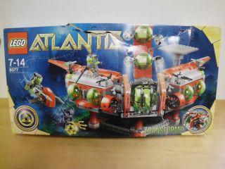 Lego Atlantis 8077 Unterwasser Hauptquartier Neu OVP (Verpackung