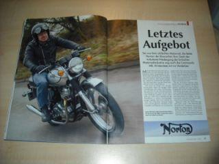 Oldtimer Markt 04/2009 Norton Commando 850 MK II in ein