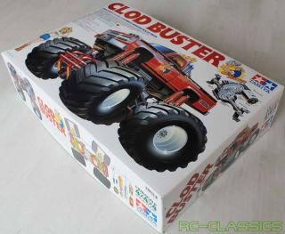 Tamiya 58065 1/10 Clod Buster Monster Pick Up Truck Kit