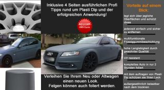 Performix Plasti Dip 10l Gun Metal Grey Auto Folie Felgen Tuning