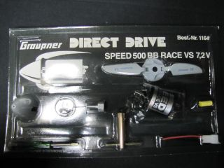 GRAUPNER 1164 DIRECT DRIVE Speed 500 BB NEU&OVP MO 855