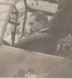 Schönes klares Flugzeug Foto Me 109 Staffelabzeichen Micky Maus Rudel