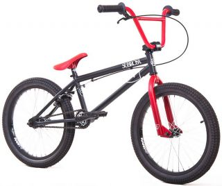 2012er Subrosa °Altus° 20 BMX Bike °Dirt/Street° schwarz rot