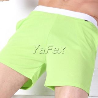 New Summer Men's Mesh GYM Sports Pants Comfort Boxer Shorts Active