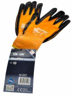 Maxiflex Endurance Handschuhe 34 848 Größe 10 orange/schwarz