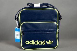 NEU ADIDAS ORIGINALS AC SIR BAG, VESPA SIR BAG TASCHE ROT , GRUN