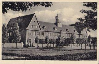 AK Hoyerswerda 1940 Grube Erika Schule, ansehen
