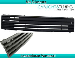 VW Polo 86C 2F ABS Frontgrill Sportgrill Grill ohne Emblem schwarz