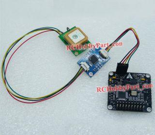 MWC MultiWii SE Multicopter control board w/ USB PRGMR & GPS NAV