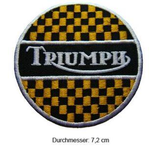 RIUMPH Aufnäher Pach Scrambler Rocke Bonneville