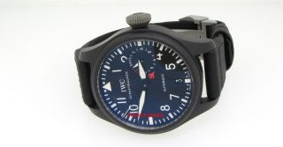 IWC Big Pilot Black Ceramic Top Gun Edition IW501901   New Model