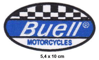 BUELL Aufnäher Patches Motorrad Biker Kutte V2 USA Lightning Ulysses