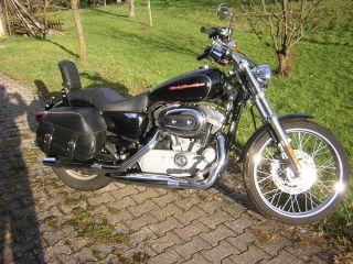 Harley Davidson 883er Sportster Custom 2007er Deutsches Modell echte