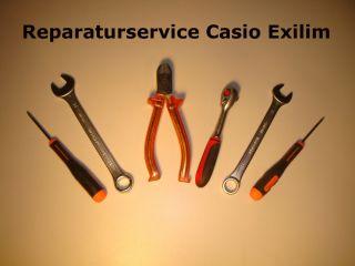 Casio Exilim EX S880 Reparatur Überbelichtung