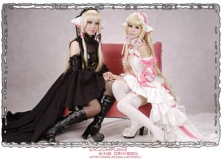 Chobits Clamp Chii Cosplay kostüm costume kleid dress